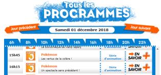 épisode 34 et 35 samedi 1 decembre 2018 canal j